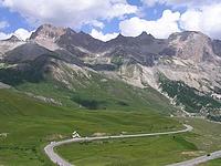 Panorama depuis le col du Lautaret
