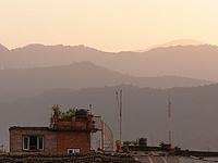 Couchée de soleil sur Bhaktapur