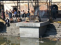 Pashupatinath - cremation