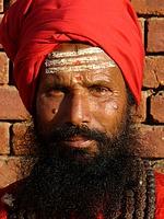 Sadhu à Patan