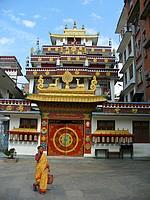Gompa proche de Kathesimbhu