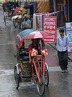 Thamel - rickshaw