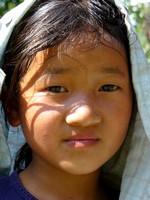 Jeune népalaise