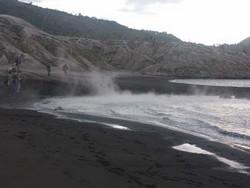 Sources chaudes, à l'approche du Tavurvur