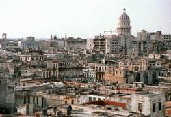 Vue sur la vieille ville de la Havane