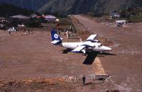 Aéroport de Lukla - départ pour Katmandou