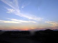 Crépuscule à l'Aba Huab Camp